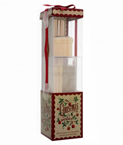 Spiced Apple and Cinnamon Diffuser Cancer Research UK Christmas Gift