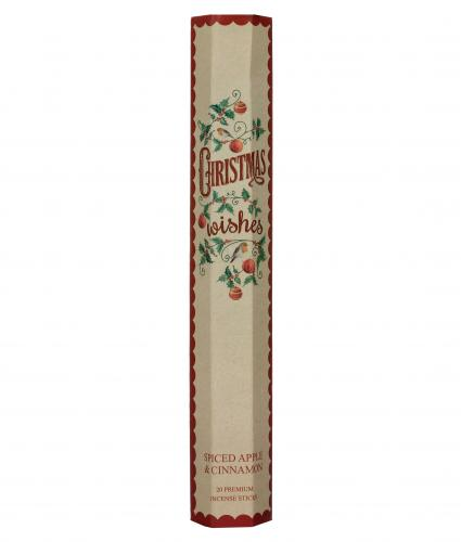Spiced Apple and Cinnamon Incense Cancer Research UK Christmas Gift
