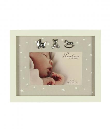 Star Patterned Frame, Baby Gift, Cancer Research UK