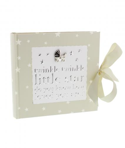Twinkle Twinkle Photo Album, Baby Gift, Cancer Research UK