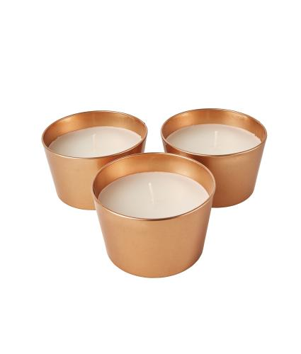 Copper Citronella & Lemongrass Candles