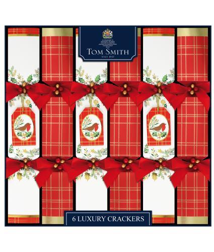 Tom Smith 6 Traditional Luxury Christmas Crackers