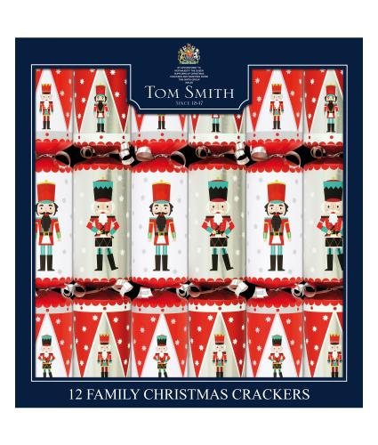 Tom Smith 12 Nutcracker Family Christmas Crackers