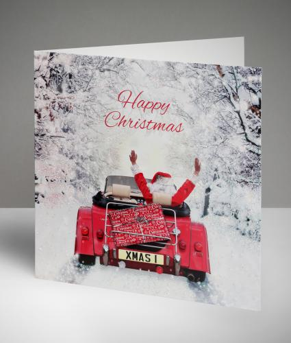Festive Deliveries Christmas Cards, Pack of 20
