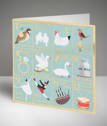 My True Love Sent To Me Christmas Cards, Pack of 10