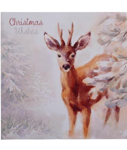 Delightful Deer Christmas Cards - Pack of  10