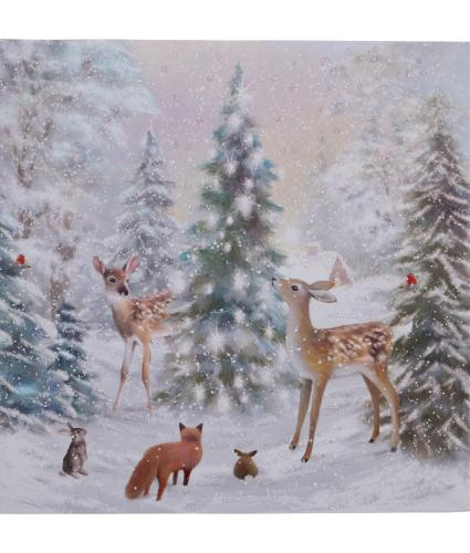 Winter Forest Christmas Cards - Pack of 10