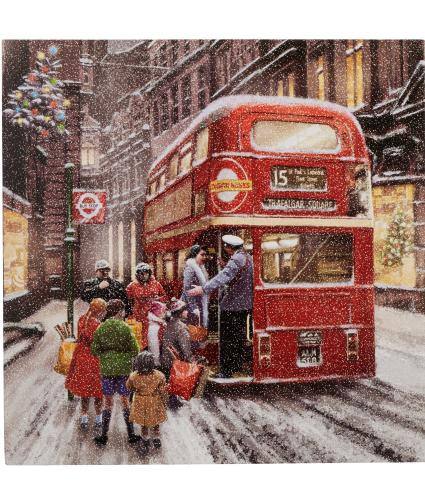 Wintery London Scene Christmas Cards - Pack of 20