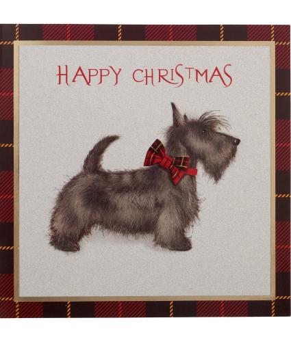 Statuesque Scottie Christmas Cards - Pack of 10