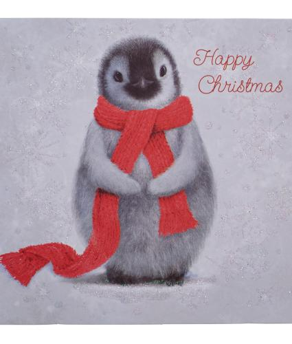 Winter Penguin Christmas Cards - Pack of 10