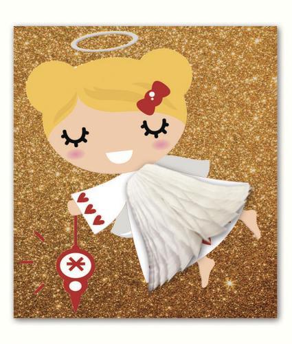 Pulp Pop Up Fairy Christmas Card