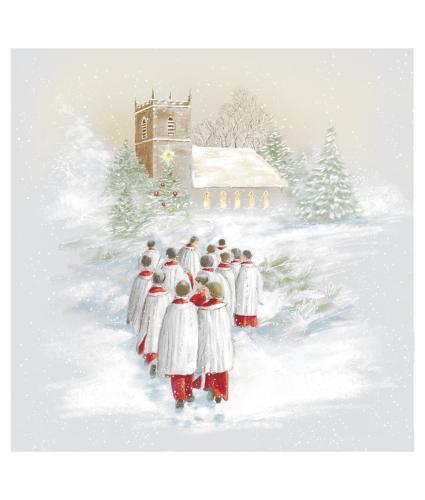 Choir Boys Christmas Cards - Pack of 10