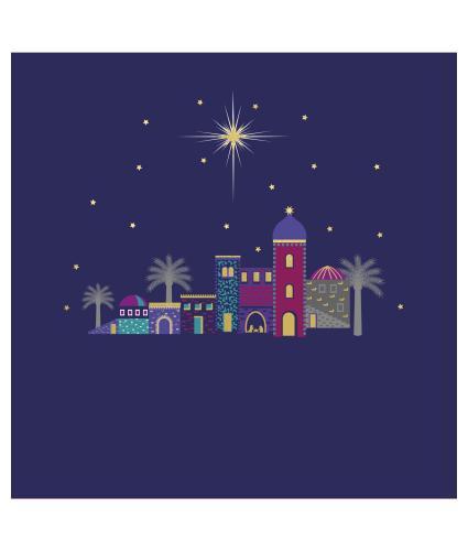 Beautiful Bethlehem Christmas Cards - Pack of 10