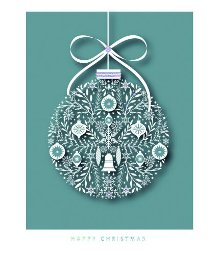 Ornate Icon Duo Christmas Cards - Pack of 16