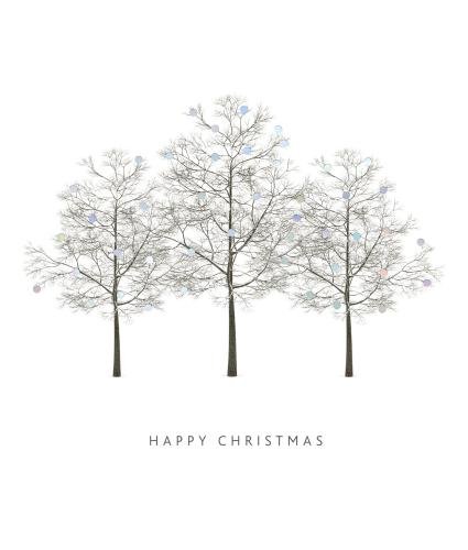 Symphony of Trees Christmas Cards - Pack of 20