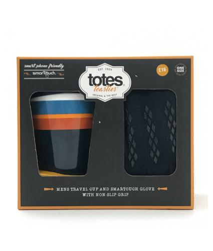 Totes Travel Mug and Smart Touch Glove Gift Set