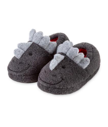 Totes Children's Slippers - Dinosaur