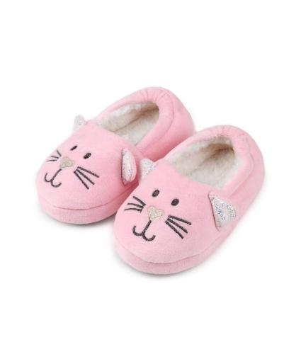 Totes Children's Slippers - Cat