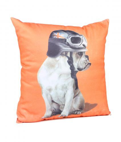 Cancer Research UK, Captain Britain Bulldog Orange Cushion