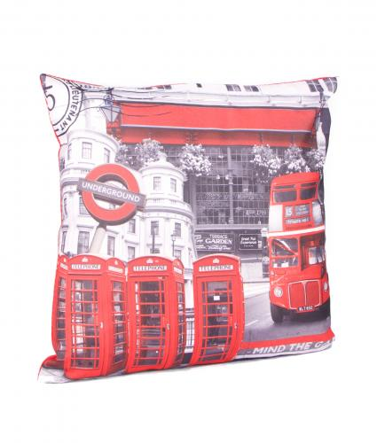 Cancer Research UK, London Bus Cushion