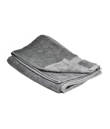 Cotton Bath Towel - Charcoal