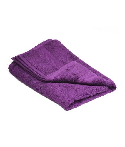 Cotton Hand Towel - Plum