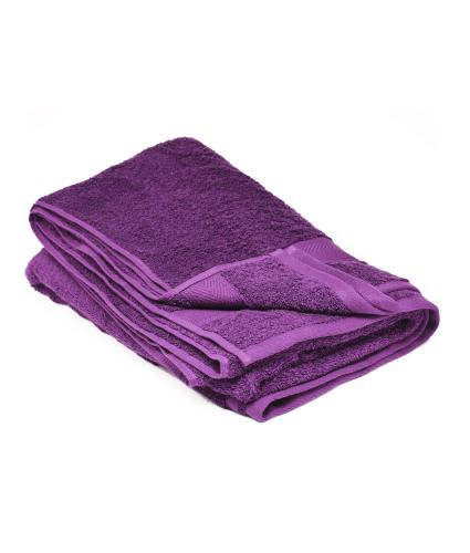 Cotton Bath Sheet - Plum