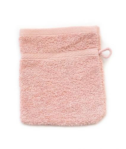 Cotton Hand Mitt Towel - Rose