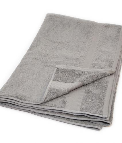 Cotton Bath Sheet - Grey