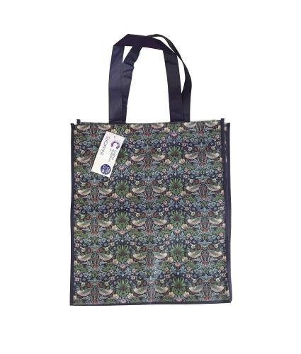 William Morris Strawberry Thief Shopping Bag