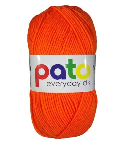 Cygnet Pato Everyday DK Knitting Yarn in Orange 995