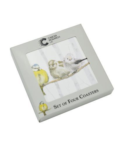 Birds Coasters