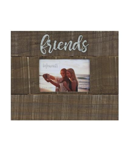 Friends Moments 6x4 Wood Finish Photo Frame