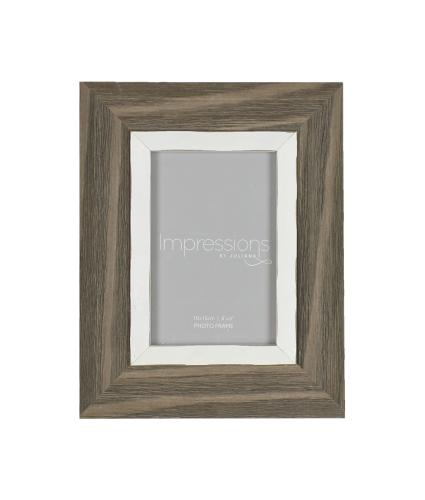 Impressions Driftwood Style Photo Frame - 4x6