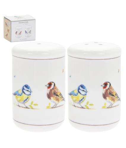 Country Life Birds Salt & Pepper Pots