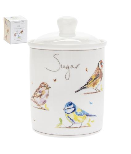 Country Life Birds Sugar Canister