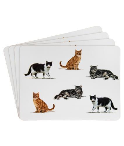 Cat Breeds Placemats - Set of 4