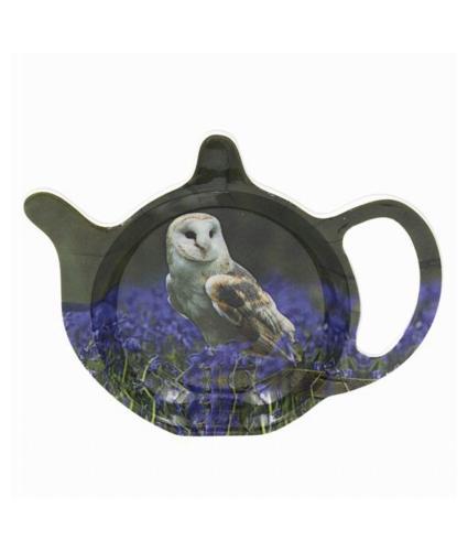 Owl Wildlife Teabag Tidy