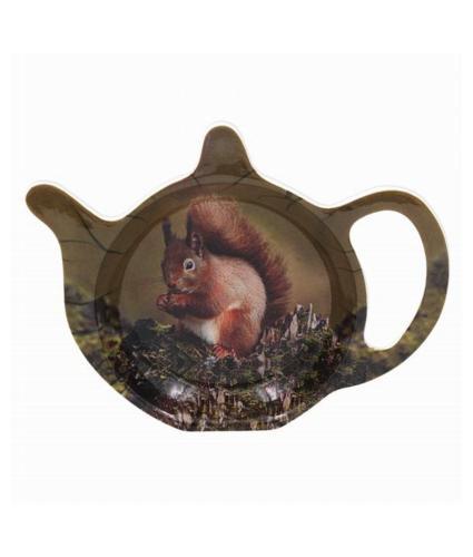 Red Squirrel Wildlife Teabag Tidy