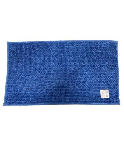 Chenille Bath Mat - Federal Blue
