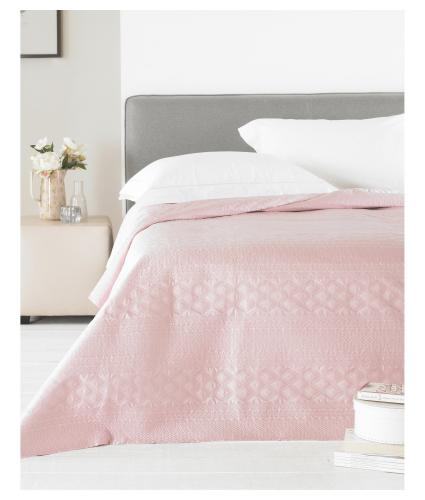 Clone of Country Club Matte Satin Bedspread - Pink