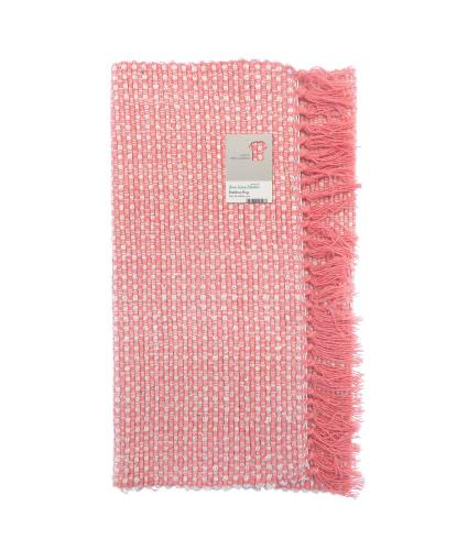 Green Living Collective Bamboo Design Rug - 50 x 80cm - Pink