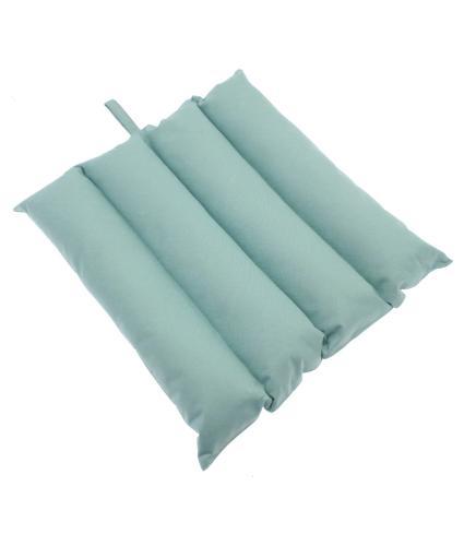 Alfresco Rib Design Cushion Seat Pad - Mint