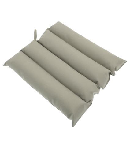 Alfresco Rib Design Cushion Seat Pad - Grey