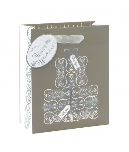 Ice Sparkle Medium Gift Bag