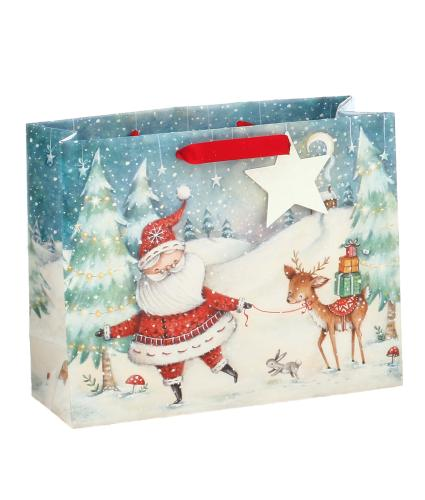 Santa & Friends Large Gift Bag