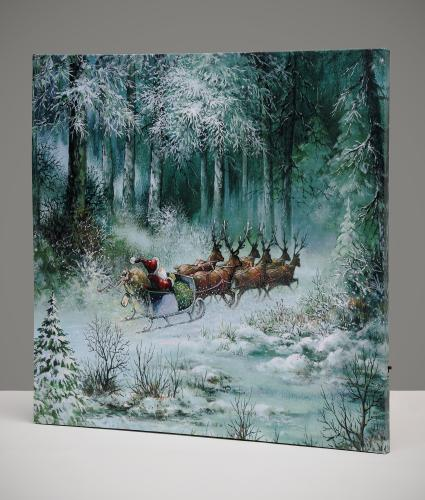 Dashing Through the Snow Pre-lit Print