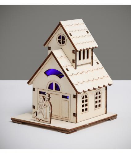 Mini Two Story LED House