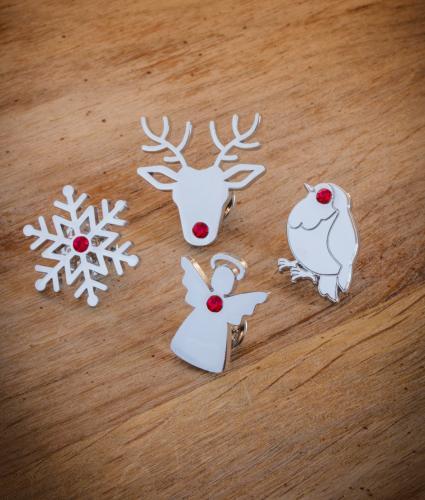Christmas Pin Badge Set