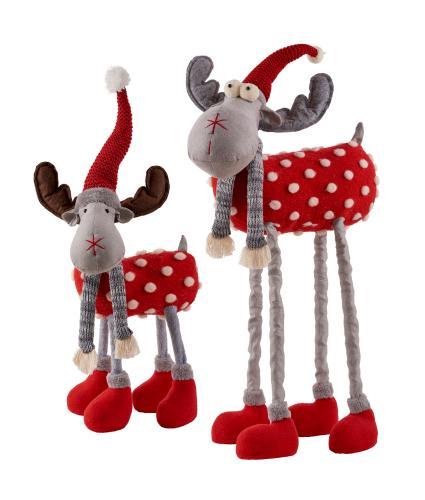 Standing Red Reindeer Bundle